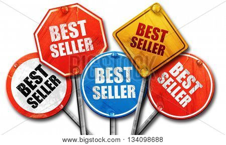 best seller, 3D rendering, rough street sign collection