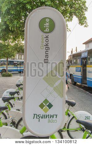 Green Bangkok Bike Rental Scheme, Bangkok Thailand