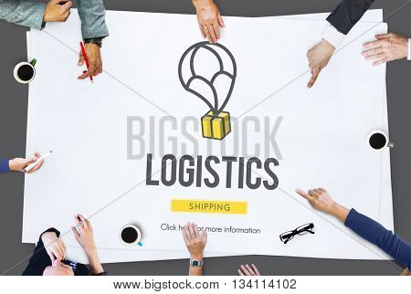 Logistics Delivery Freight Shipping Storage Service Concept