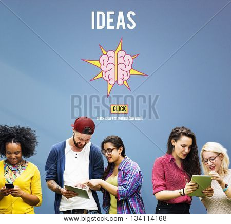 Ideas Strategy Thoughts Vision Objective Concept