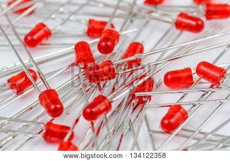 Red Light Diodes Batch
