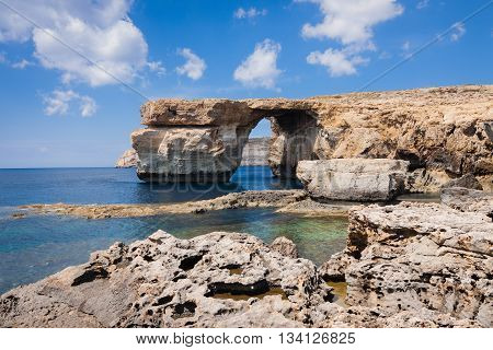Azure Window On The Island Gozo