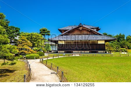 Honmaru Palace at Nijo Castle in Kyoto, Japan