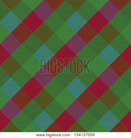 Seamless geometric pattern. Madras check pattern with burgundy green blue.Digital print for wallpaper wrapping paper fabric textile scrap booking apparel web design.Vector seamless background.