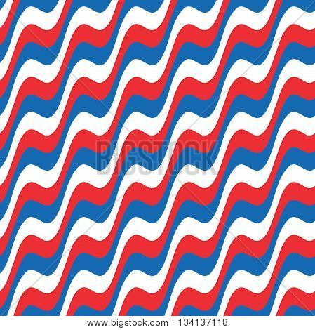 Wavy stripes seamless pattern. Boho style. Digital print for wallpaper pattern, wrapping paper, fabric pattern, textile pattern, scrap booking, cover page, apparel, web design, vector.