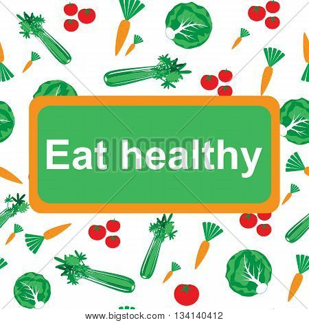Eat Healthy Background