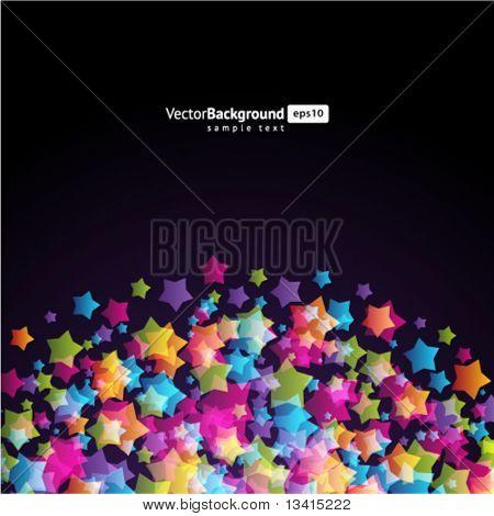 Star background. Eps 10