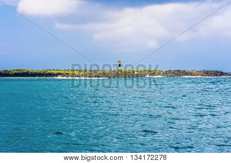 Landscape View At Espanola Island In Galapagos