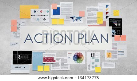 Action Plan Planning Strategy Vision Aspirations Concept