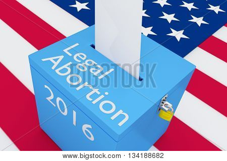 Legal Abortion 2016 Concept
