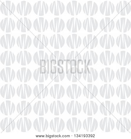 Abstract Monochrome Pattern With Circle Shapes. Geometric Repeatable Background