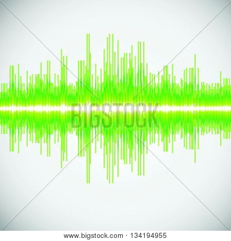 equalizer colorful musical bar. white background eq vector