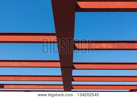 Steel structure of building Construction steel structure.