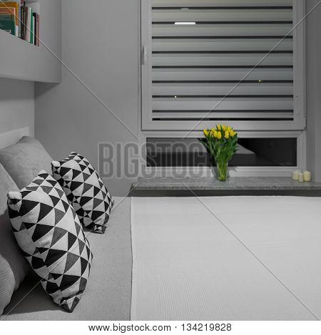 Bed Near Window