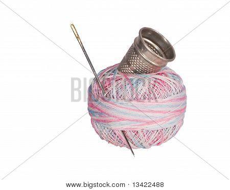 Thimble, Needle, Thread