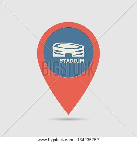 Map Pin Arena