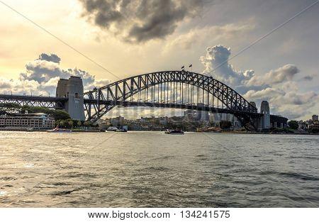 Sydney Harbour Bridge In Daylight