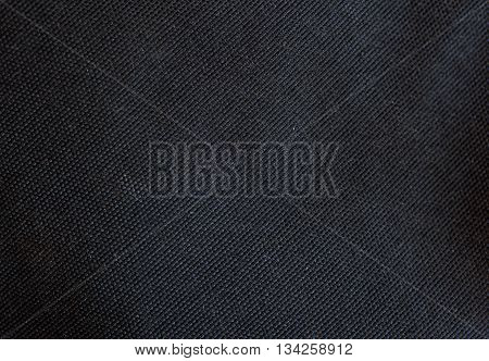 Free high resolution close up photo of black canvas fabric or cloth. This picture would make a great web background or desktop wallpaper, or great texture for scrapbooking or Photoshop.