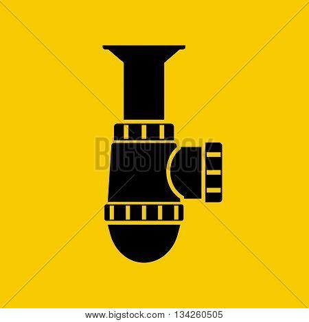 Siphon Icon Vector