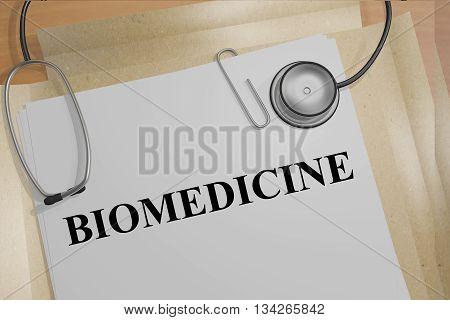 Biomedicine Medical Concept