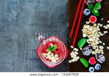 Smoothie And  Ingredients