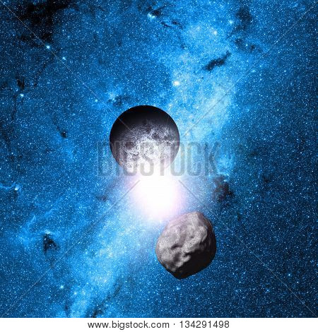 Planet Earth Deep In Space Elements Of This Image Furnished By Nasa