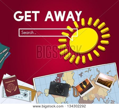 Get Away Travel Concept Leisure