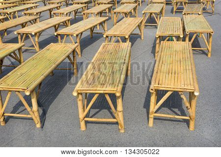 Many Bamboo Chairs