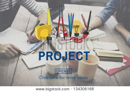 Project Craft Creation Ideas Design Art Concept