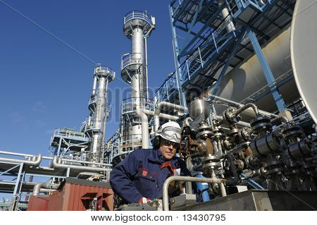 engineer, oil and fuel and industry