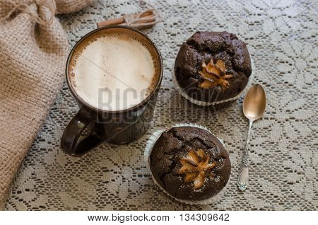 Cappucino And Muffins