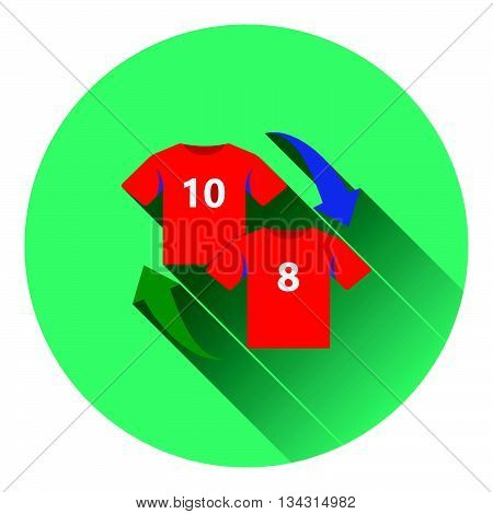 Icon Of Football Replace