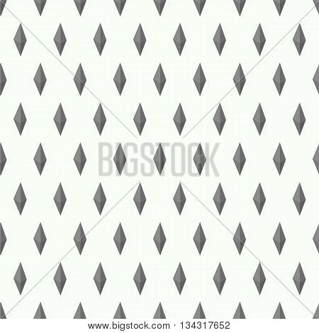 Seamless texture with isometric shapes on white background. The concept of seamles pattern for your business, web sites, presentations, advertising etc. Vector isolated illustration.