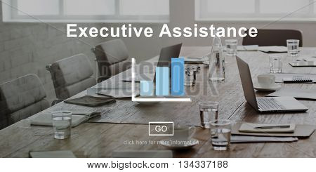 Executive Assistance Advisor Suggestion Consultant Concept