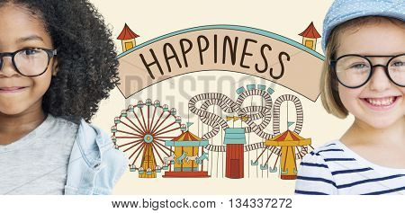 Happiness Happy Emotion Enjoy Fun Relaxation Concept