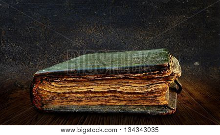Very old book. The end of the 16th century.