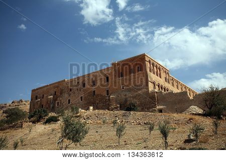 Deyrulzafaran Assyrian Monastery in Mardin East Turkey.