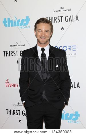 LOS ANGELES - JUN 13:  Michael Welch at the 7th Annual Thirst Gala at the Beverly Hilton Hotel on June 13, 2016 in Beverly Hills, CA