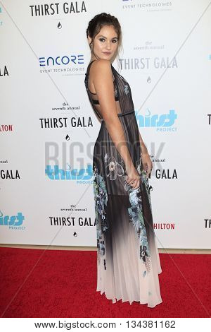 LOS ANGELES - JUN 13:  Ronni Hawk at the 7th Annual Thirst Gala at the Beverly Hilton Hotel on June 13, 2016 in Beverly Hills, CA