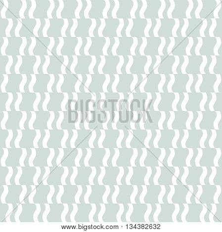 Seamless geometric pattern by stripes. Modern vector background with repeating lines. Seamless geometric background. Light blue and white pattern