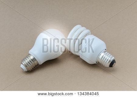LED bulb and Compact Fluorescent bulb - The alternative technology