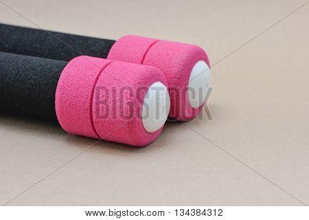 Pink Dumbbell For Women, Mini Dumbbell