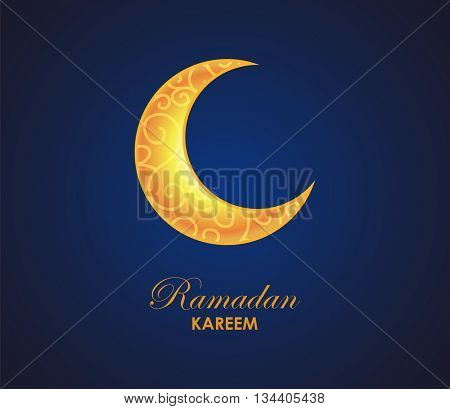 Ramadan Kareem Background.Vector