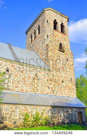 Lutheran Church in Priozersk designed by Armas Lindgren in 1930.