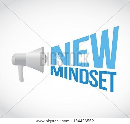 New Mindset Megaphone Message