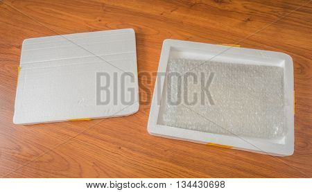 Packaging foam box