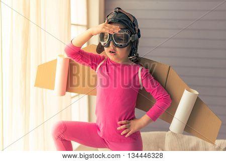 Cute Little Astronaut