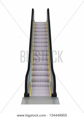 3D Rendering Escalator