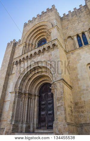 Igreja De Sao Tiago In Coimbra