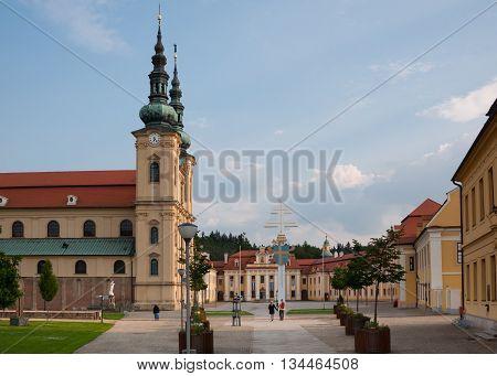 Basilica of Saint Cyril and Methodius in Moravia